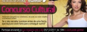 Concurso Cultural - Blog da Vitrine + Twitter