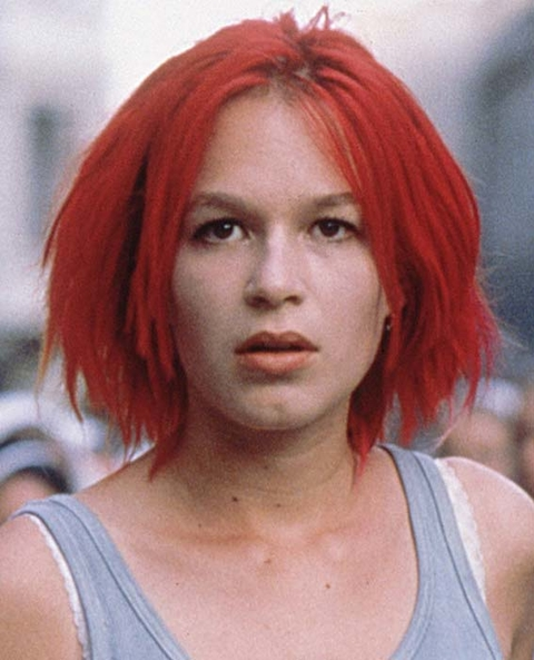 RUN LOLA RUN, (aka LOLA RENNT), Franka Potente, 1998. ©Sony Pictures Classics/courtesy Everett Colle