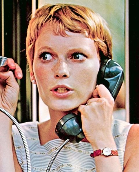ROSEMARY'S BABY, Mia Farrow, 1968.